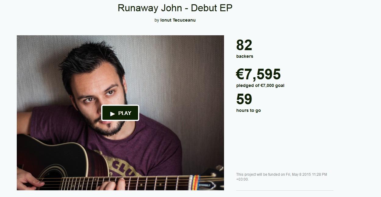Captura Kickstarter